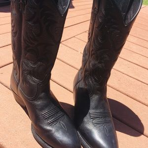 ARIAT Men's Black Heritage Western Boots